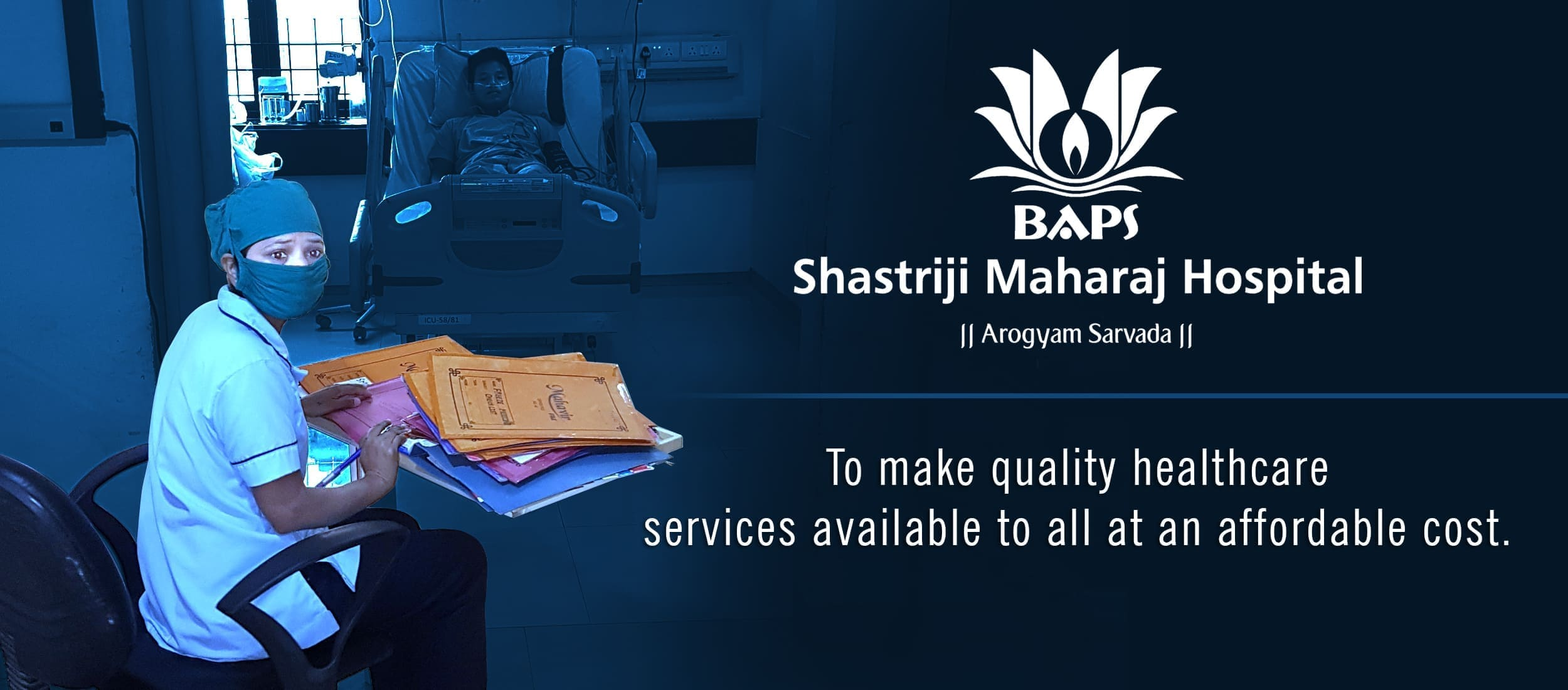BAPS Shastriji Maharaj Hospital - Be an Organ Donor. Support The Cause